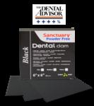 Платки для коффердама (черные) Dental Dam Black